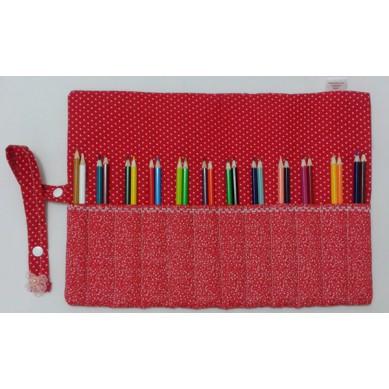 Porta Lápis em Tecido - 01