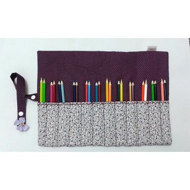 Porta Lápis em Tecido - 06