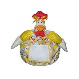 Cobre bolo com bolso para bordar - 06