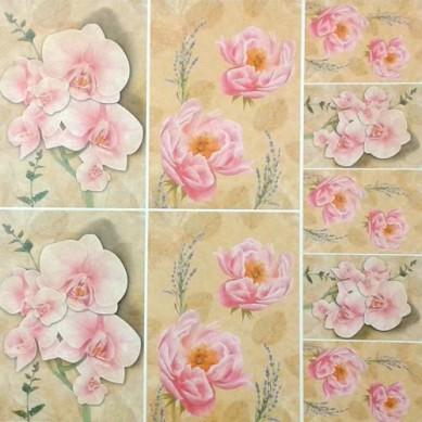 Papel para Decoupage 30 x 30cm - 12