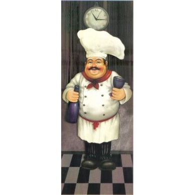 Papel para Arte Francesa Cozinheiro 1