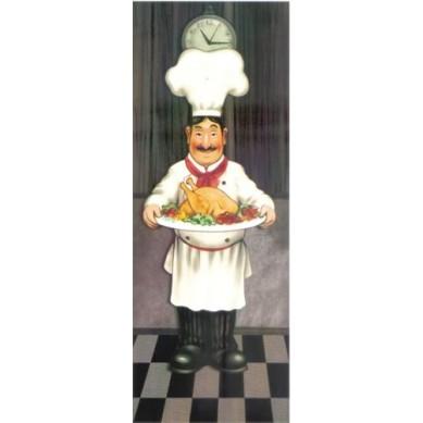 Papel para Arte Francesa Cozinheiro 2