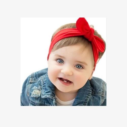 Faixa Turbante Bebê com Elástico - 09